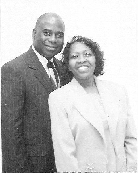 Elder Willie Ferrell and Sister Margaret N. Ferrell.