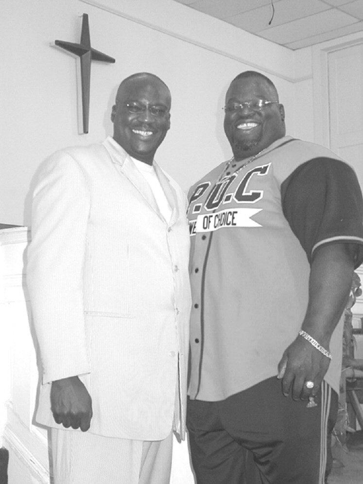 Pastor Rick Bready & James Holloway Henderson