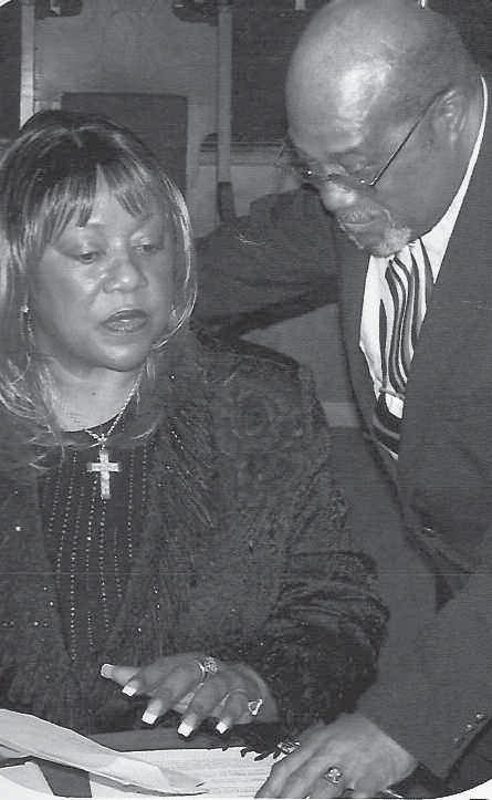Rev. Dr. Bernita Williams and Rev. Johnnie Shields