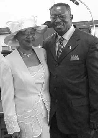Pastor Jerome William Baker and First Lady Cleo L. Baker.