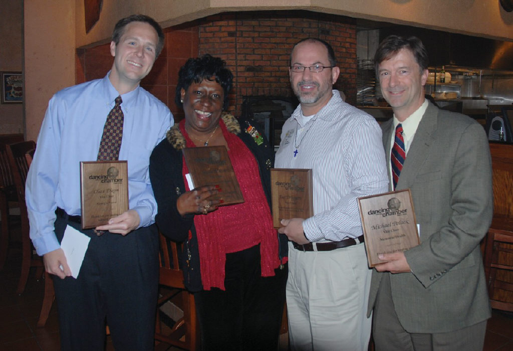 L-R: Chan Dixon, Tanya Milton, Joe Driggers, and Mike Polack.