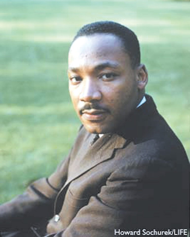 Martin Luther King, Jr., January 15, 1929-April 4, 1968