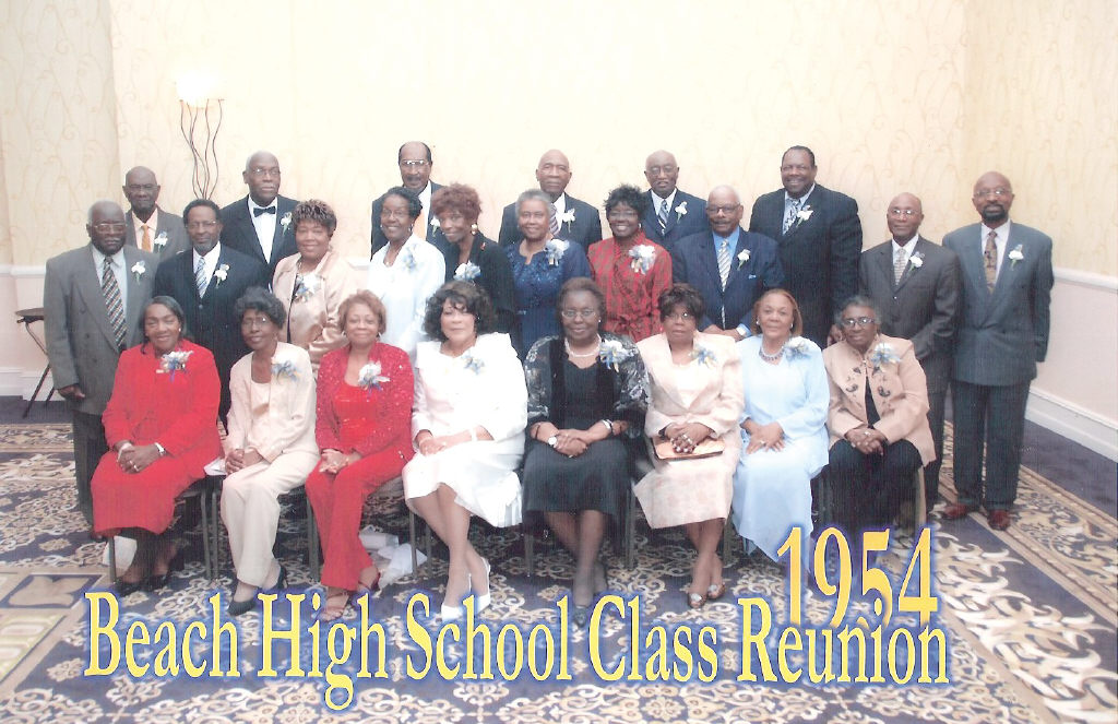 Alfred E. Beach '54 Alumni Officers: President, John Owens; Vice President, Irene Booker; Secretary, Barbara C. Howard; Corresponding Secretary, Earl Myers; Financial Secretary, Naomi Robinson; Chaplain, Josephine Jones; Parliamentarian, Albertha W. Collier; Treasurer, Fred Ford; Sergeant at Anns, Alphonso Scott; Sunshine Chairperson, Delores Hunter; and Reporter, Claretha Bivins.