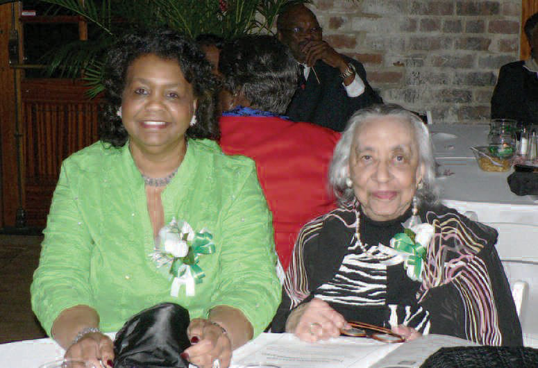 Link Connie Cooper, Chapter Vice President with Platinum and Charter Member Link Agatha Cooper.