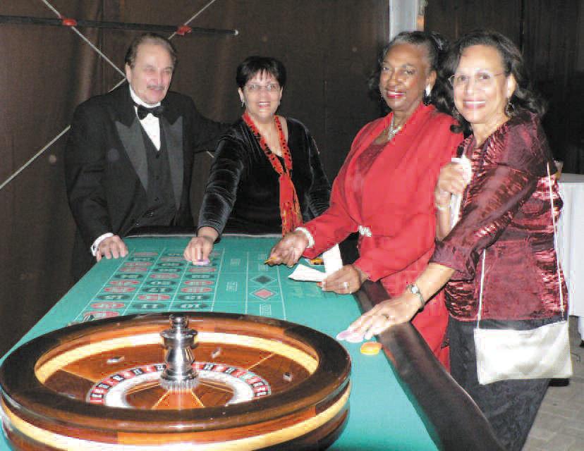 Guest enjoying the casino.