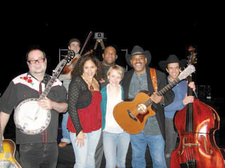 Members of Cross That River band