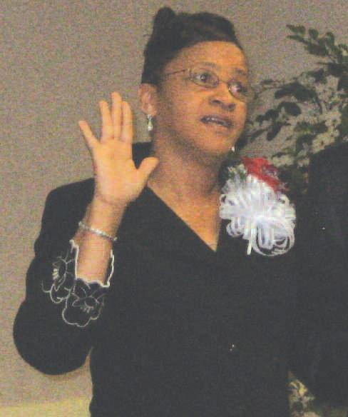 Barbara King takes oath