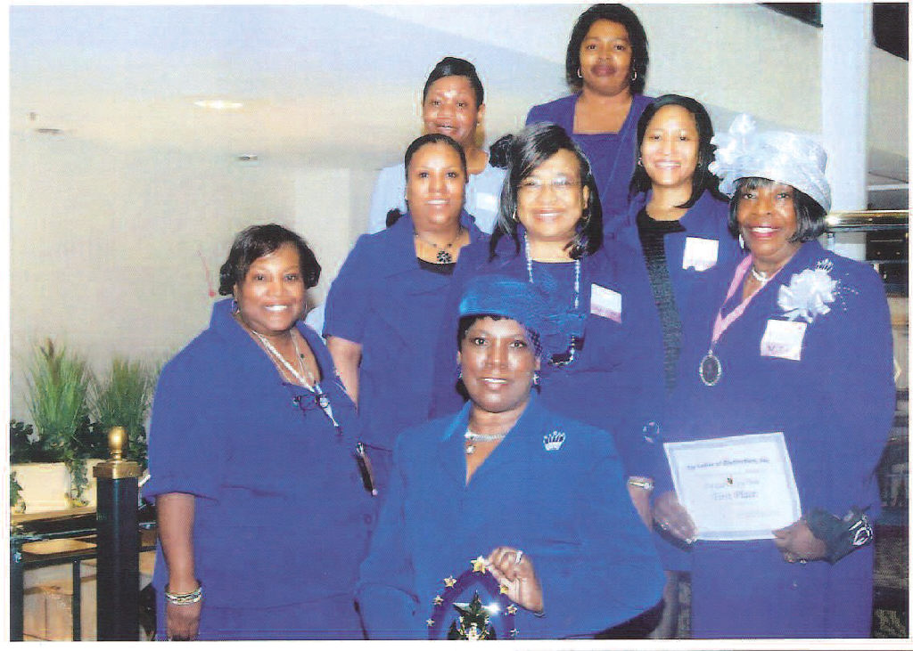 Menbers of Top Ladies of Distinction, Savannah Chapter