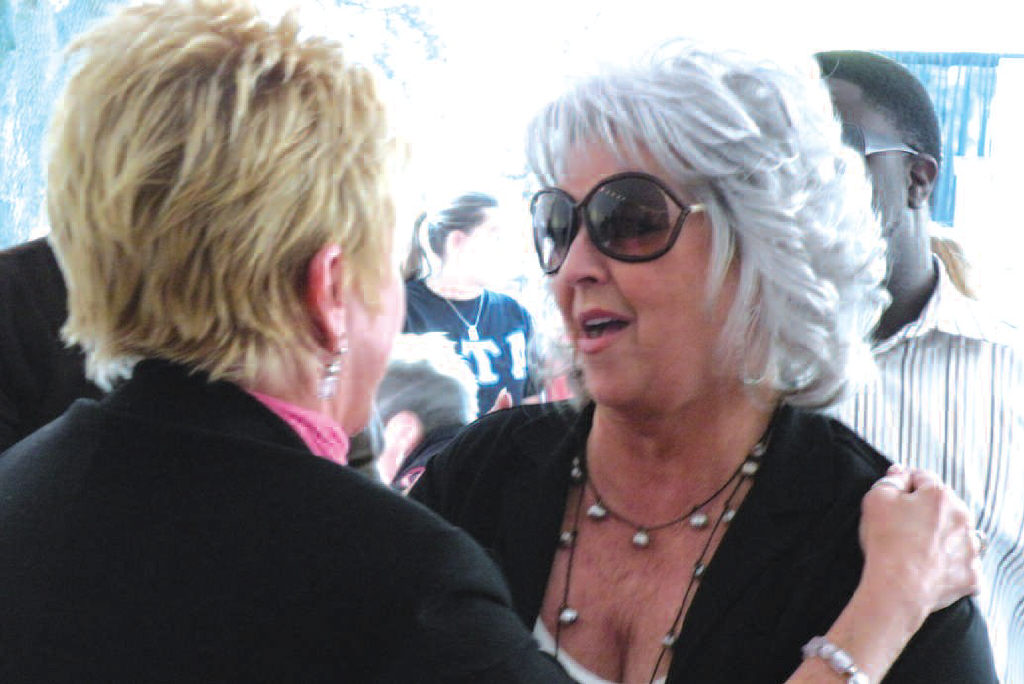 Paula Deen, local celebrity and proprietor of the Lady and Sons Restaurant served as honorary chair of the Susan G. Komen Race For the Cure.