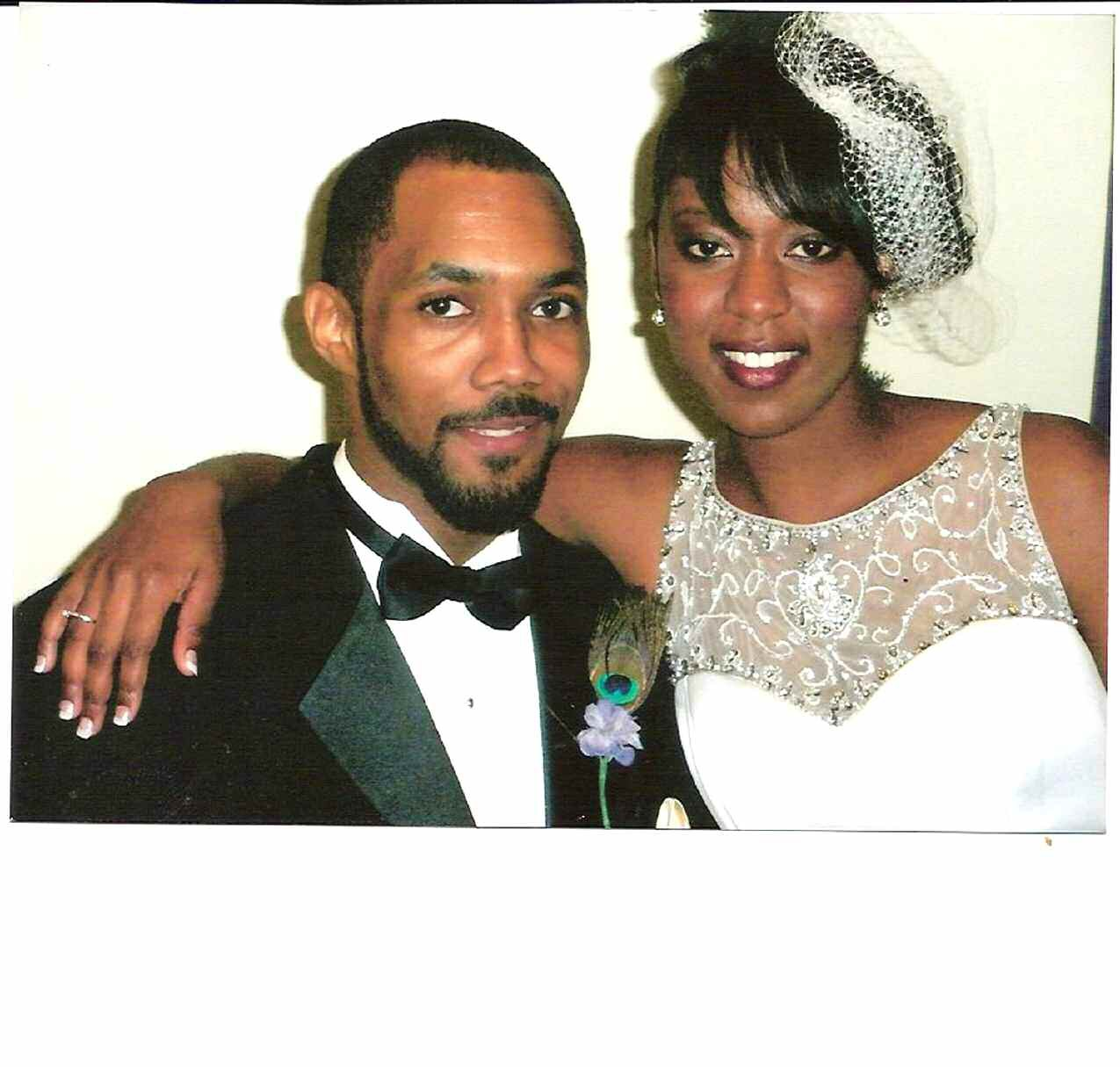Mr. and Mrs. Ronald Slaughter, Jr.