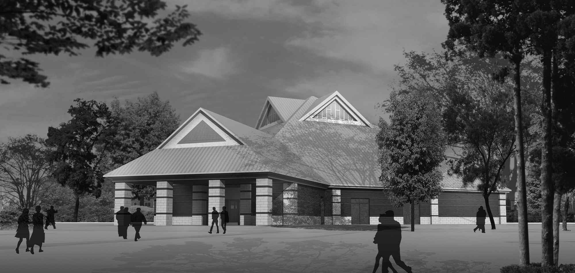 Rendering of the new Ressurection of Our Lord Catholic Church