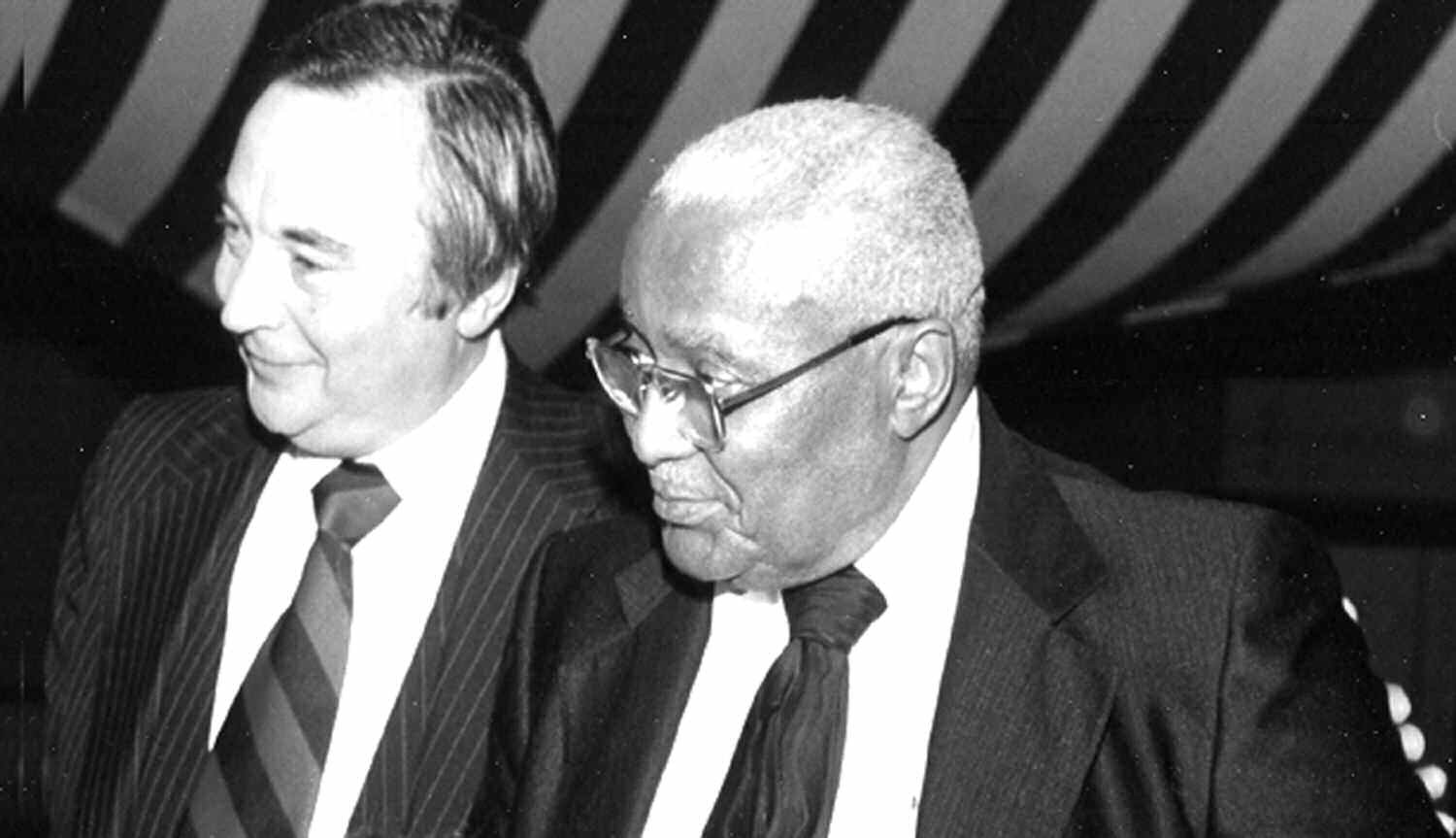 Judge Murray Silver & Rev. Martin Luther King, Sr.