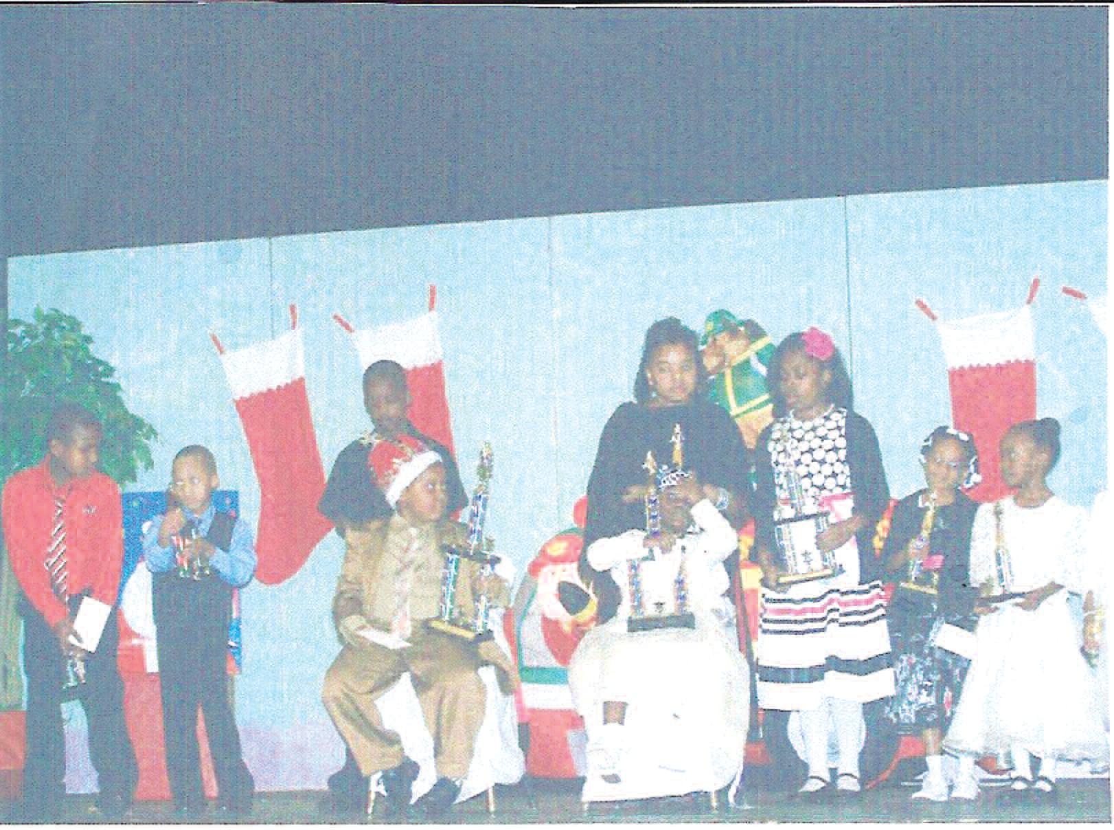 Participants of the Top Ladies' Kiddie Kotillion