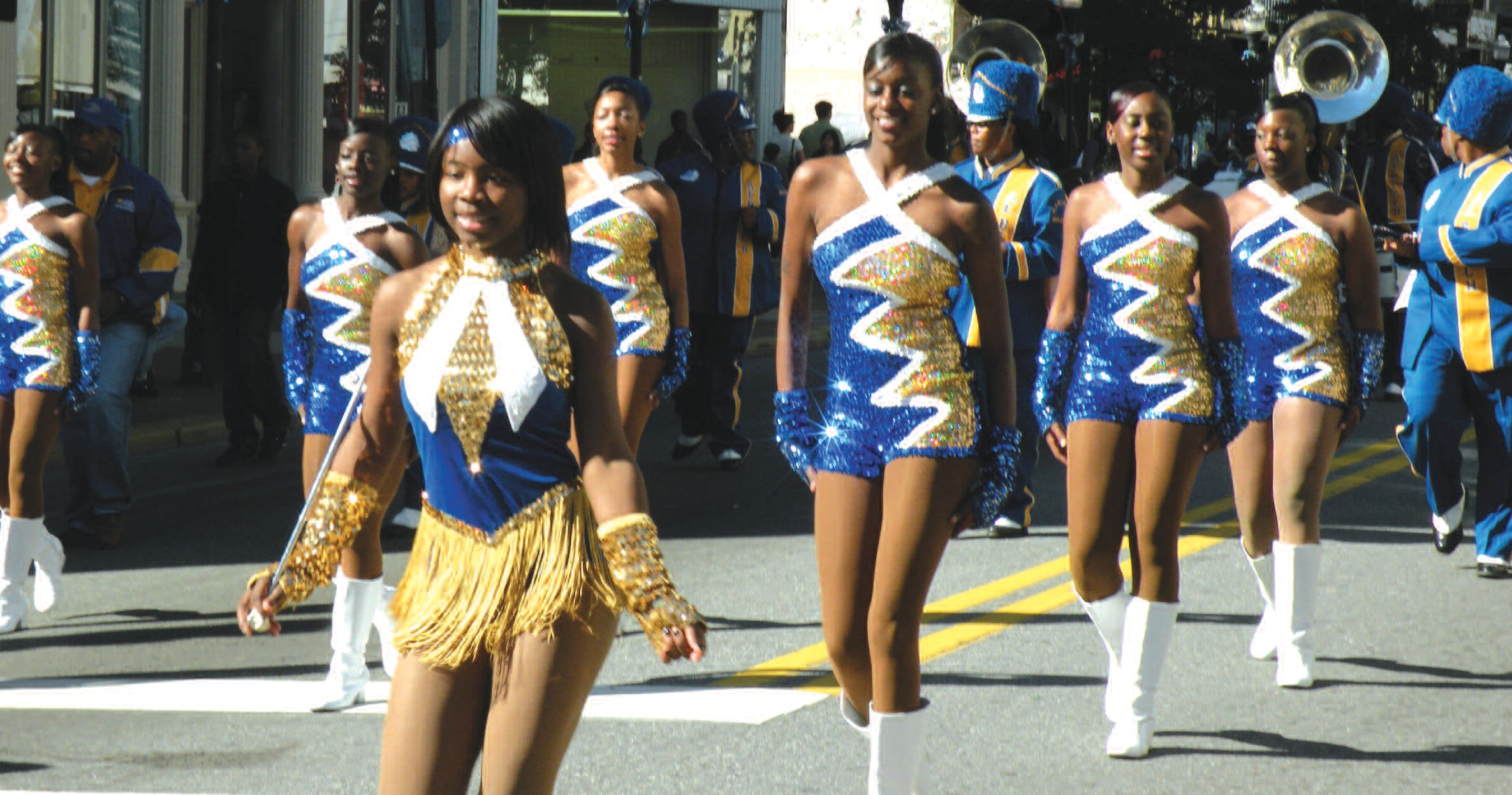A.E. Beach High Marching Band