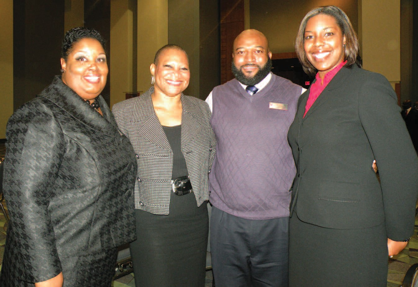 Some attendants of the MLK Community Breakfast