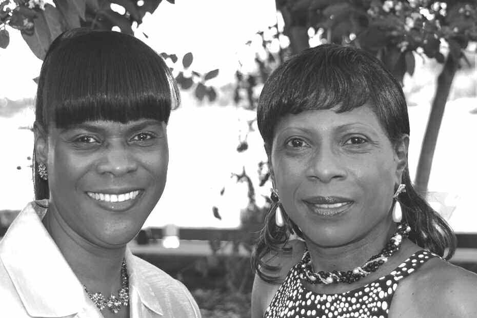 Brenda Roberts and Pamela Oglesby