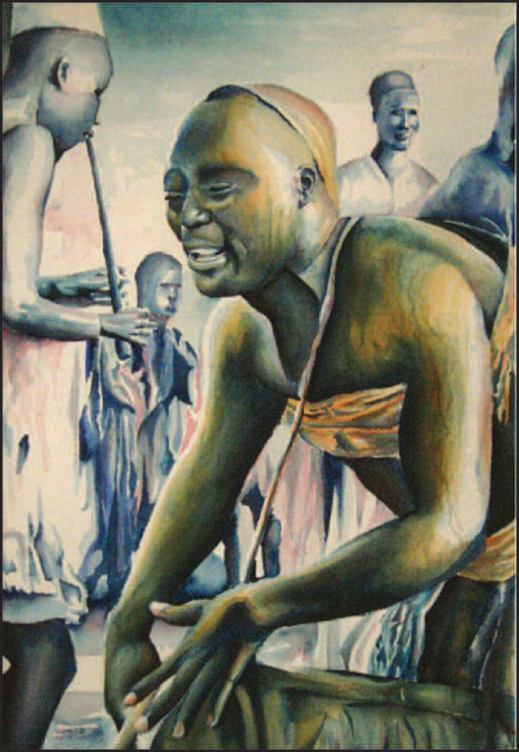 """African Rhythm"", by Taylor Mackie, a student at Savannah Arts Academy, was awarded Best of Show in the 2009 New Beginnings youth art exhibition. This year's exhibition is on display Feb. 8 through 26."