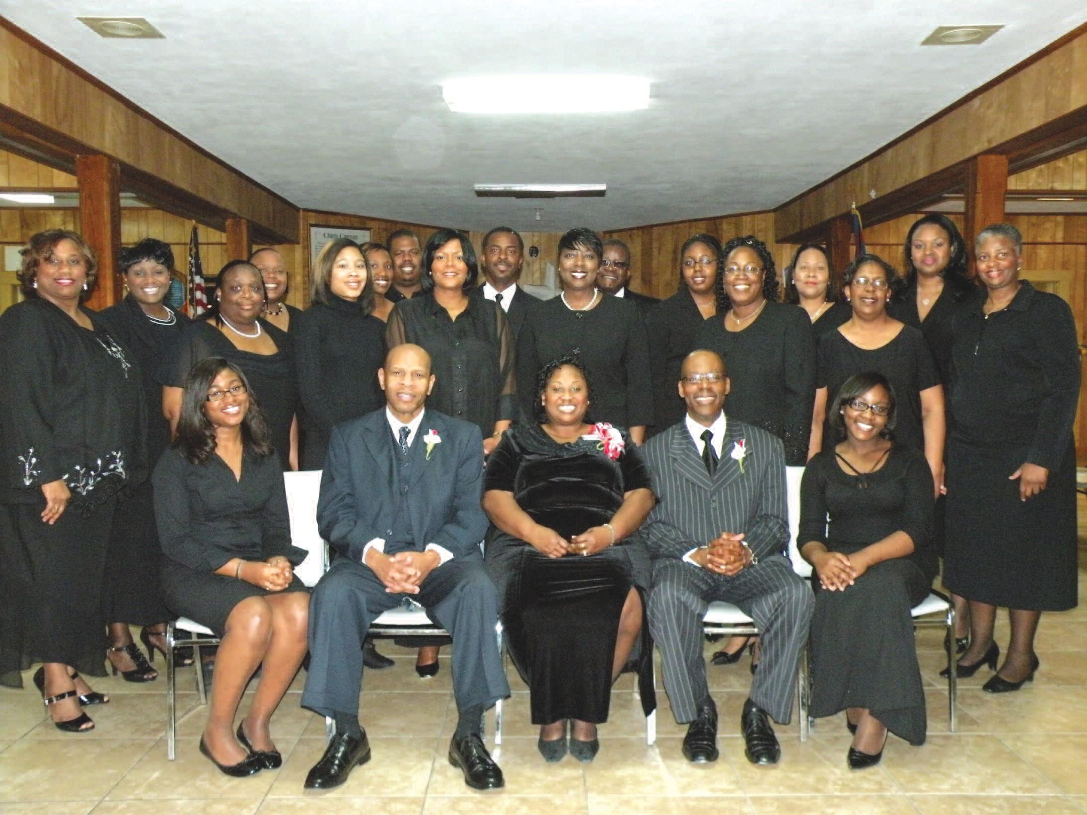 Members of the New Savannah Mass Choir