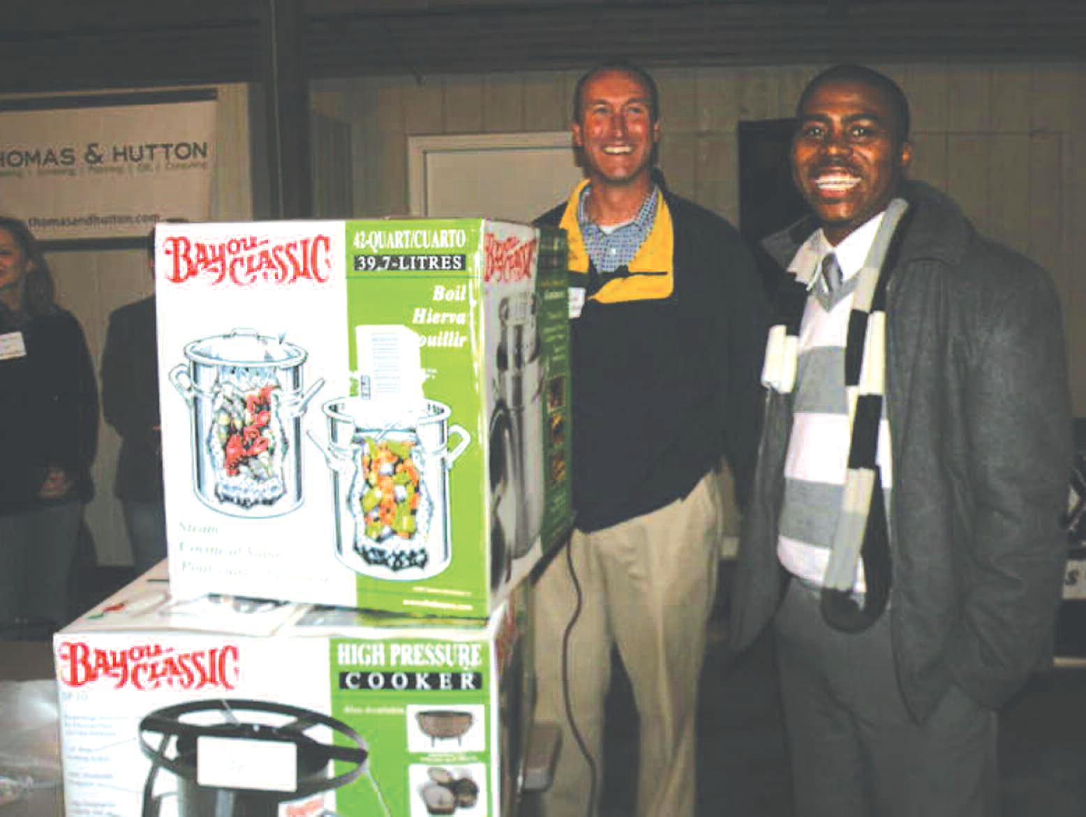 Gil Jones, Jr. of Cumulus Radio provided the music and won a door prize.