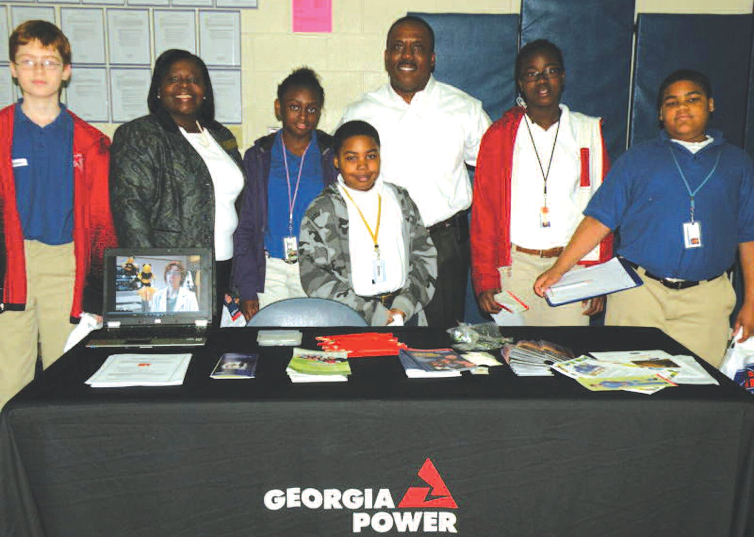Georgia Power was among the representatives at the Annul Career Fair