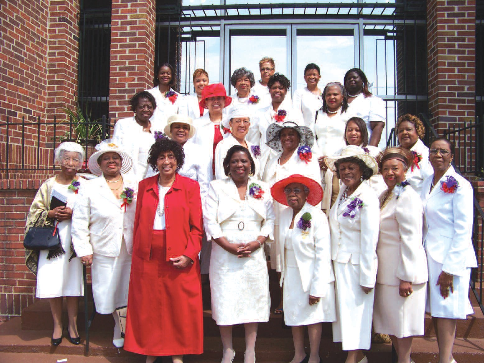 Members of the Savannah Alumnae Chapter of Delta Sigma Theta Sorority, Inc.
