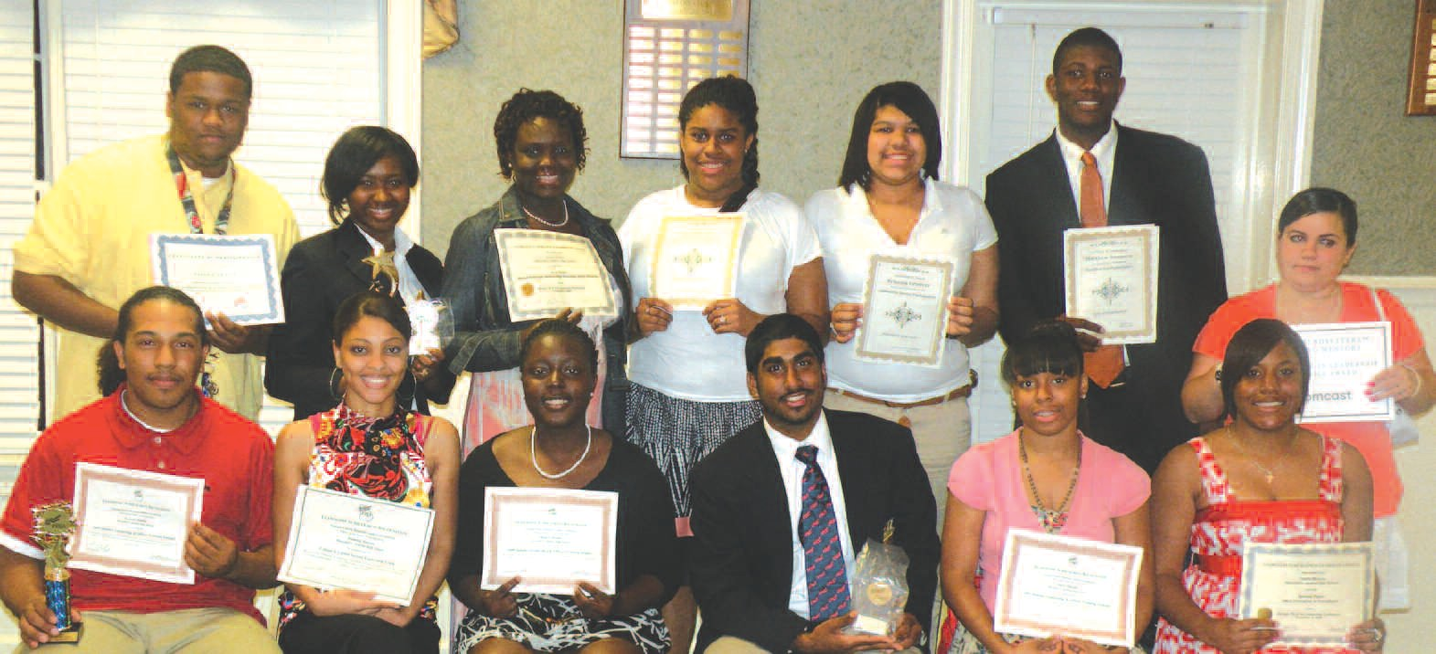 Students were honored during the Career and Technical Student Organizations Banquet