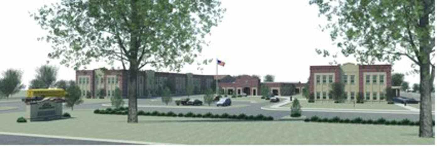Rendering of the new Butler Elementary School