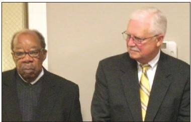 Pastors Harold Baker and Noel Cooper