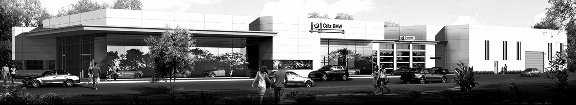 Rendering of the new Critz BMW