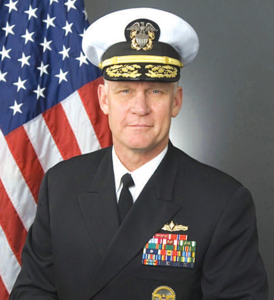 Rear Admiral Nevin P. Carr, Jr.