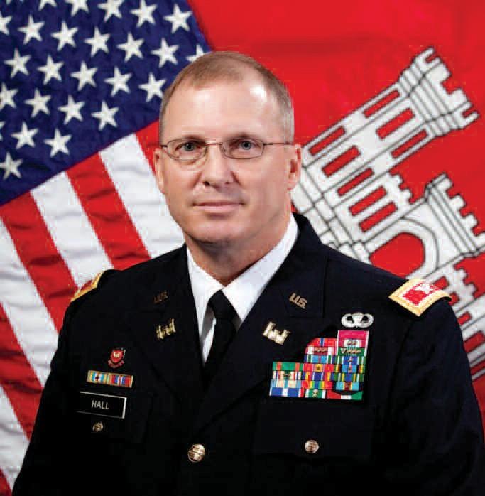 Col. Jeff Hall, Commander, U.S. Army Corps of Engineers Savannah District