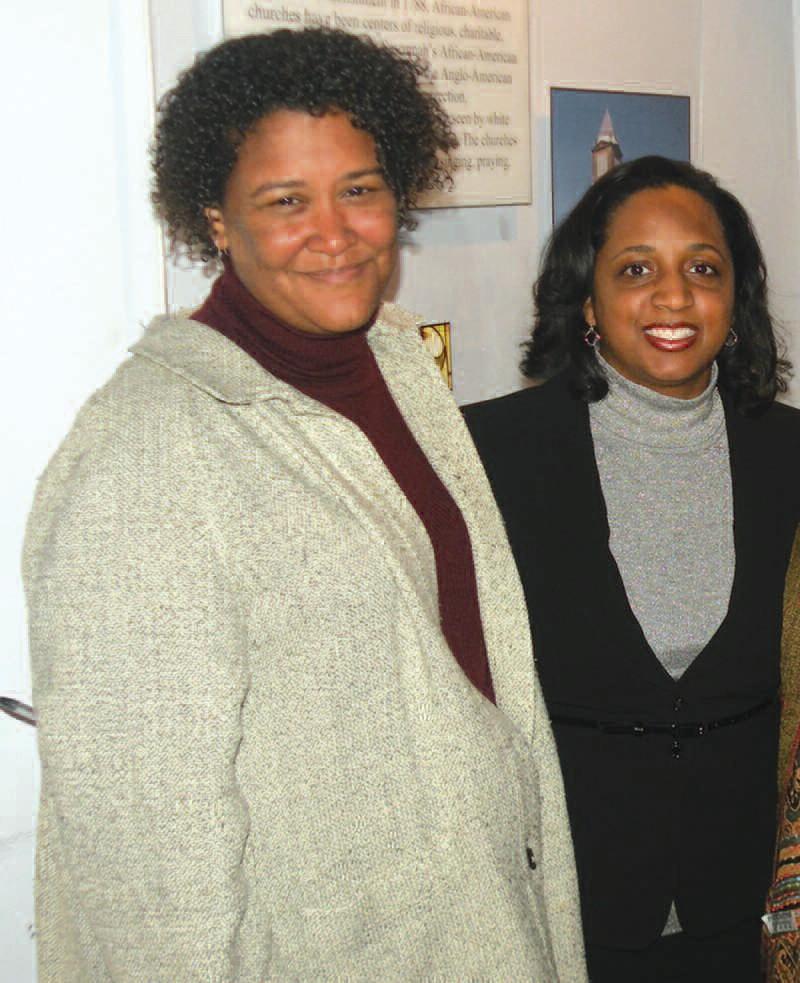 Dr. Leslie Harris and Dr. Daina Ramey Berry