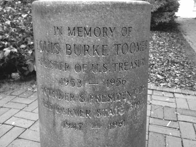 Toomer Monument