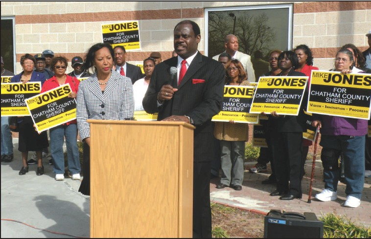 Mike Jones Announcing Candidacy