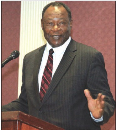 Carver State Bank President Robert E. James