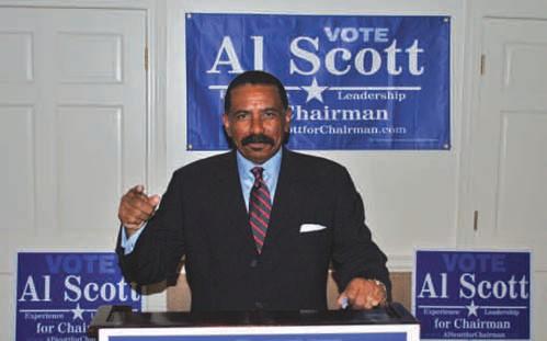 Al Scott announcing candidacy