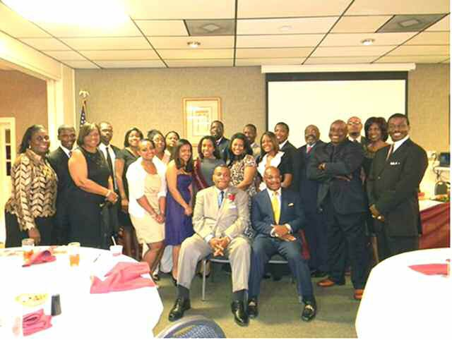 Dr. Joseph N. Bell pictured at event held in his honor