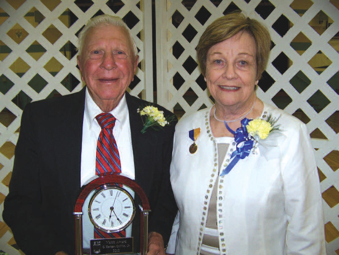 Herbert Griffin and Carolyn Redmond Groover