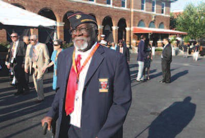 Sergeant John White was one of the Montford Point Marines honored