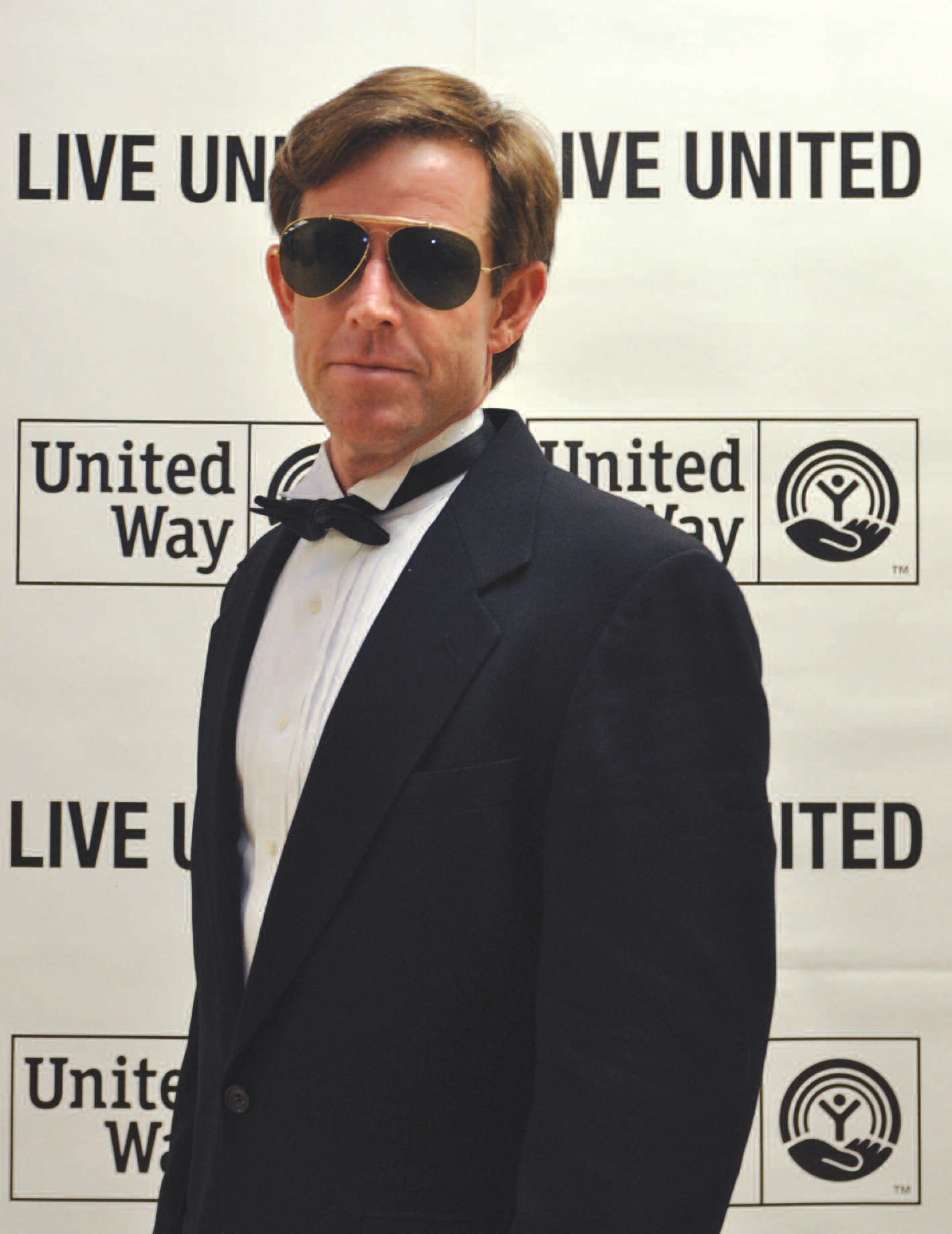 "Sam McCachern, ""Secret Agent Man"" and United Way Campaign Chair"