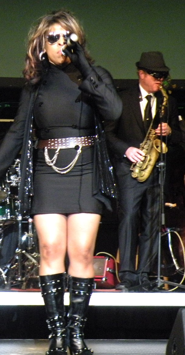 Kim Pelote as part of Secret Agent Band