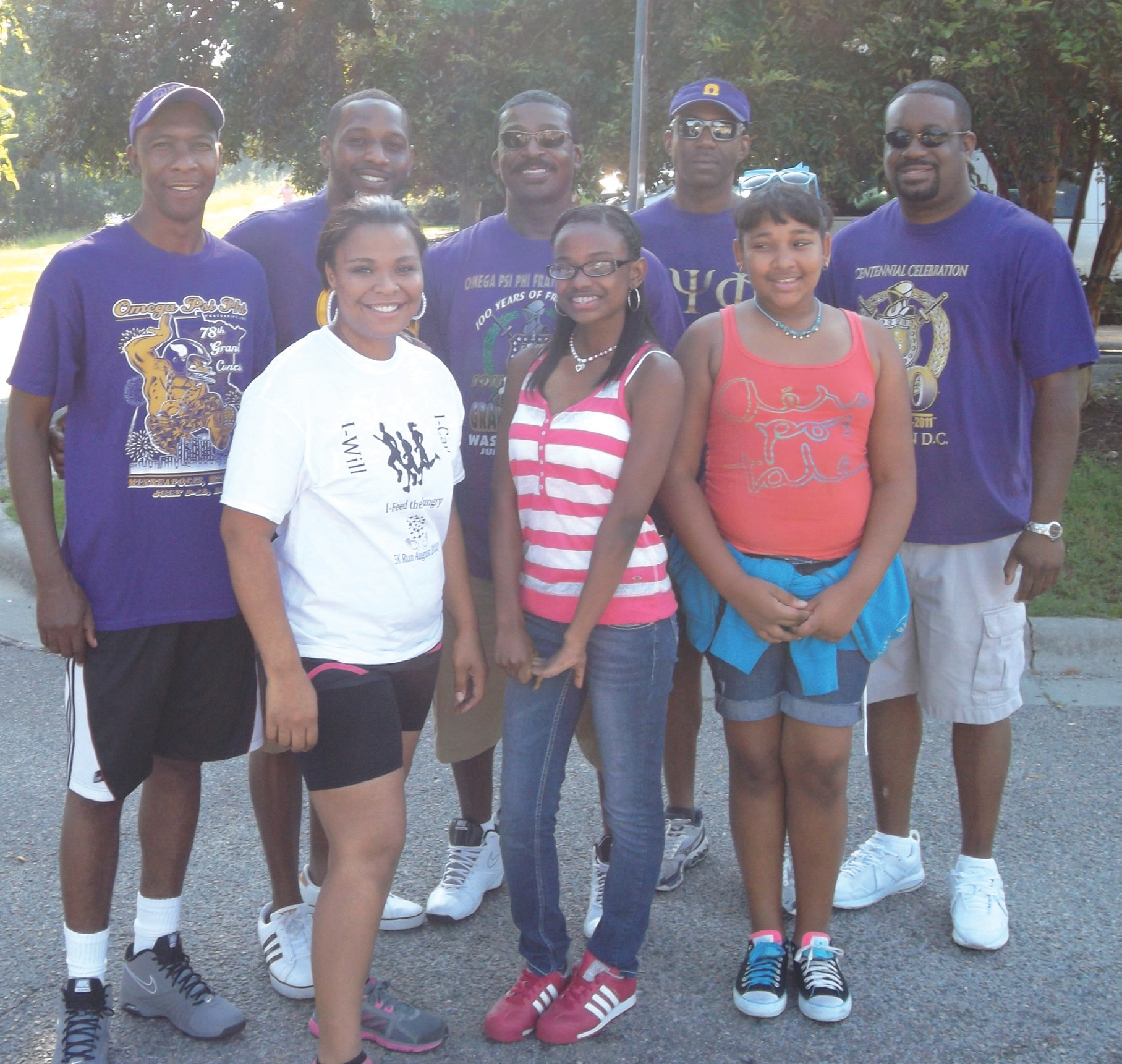 Mu Phi Chapter Omega Psi Phi and the Feed the Hungry Coalition