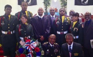 Connor's Temple Baptist Church Veterans' Day 2012