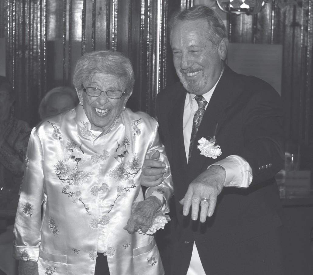 Sally Mandel and Joe Marcus