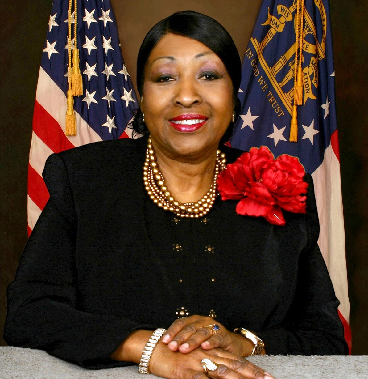 Honorable Edna Branch Jackson, mayor of the city of Savannah