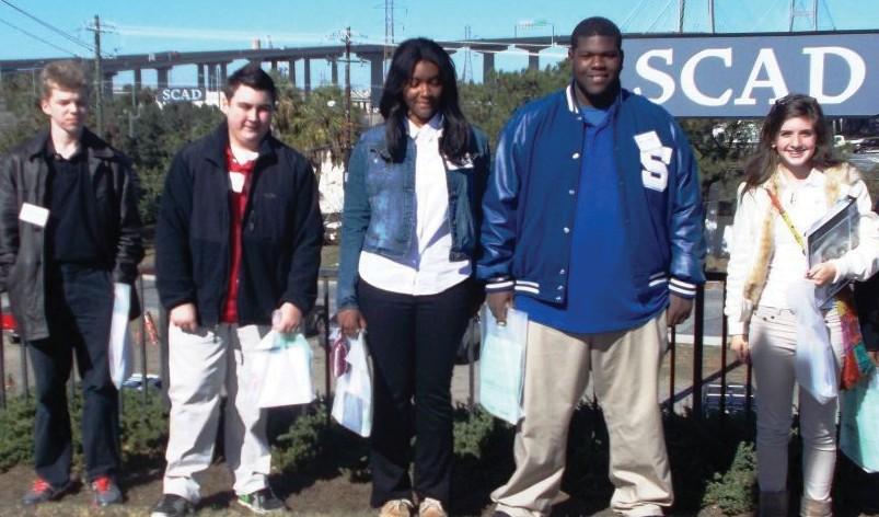 Savannah Arts Academy Students