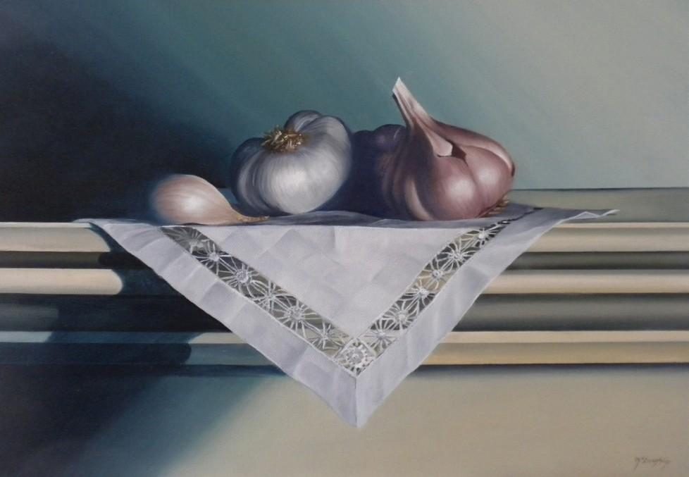 """Mary Ellen McLaughlin's """"Garlic"""""""