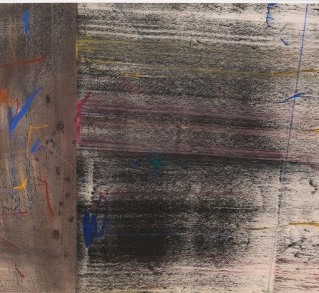 """Erasures"" by Jack Whitten"