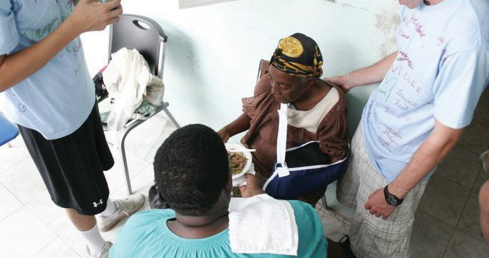 Annual medical missions provide help for many Haitians.