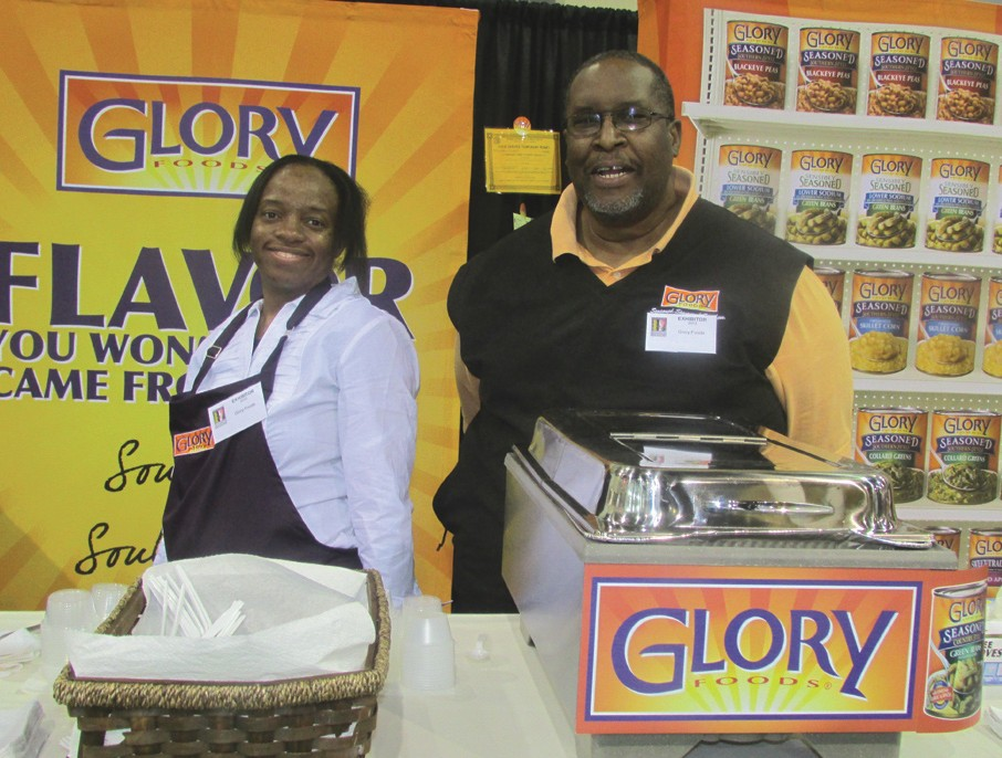 Shirley Welch, Manager of Grade A Staffing and David Francis Event Coordinator